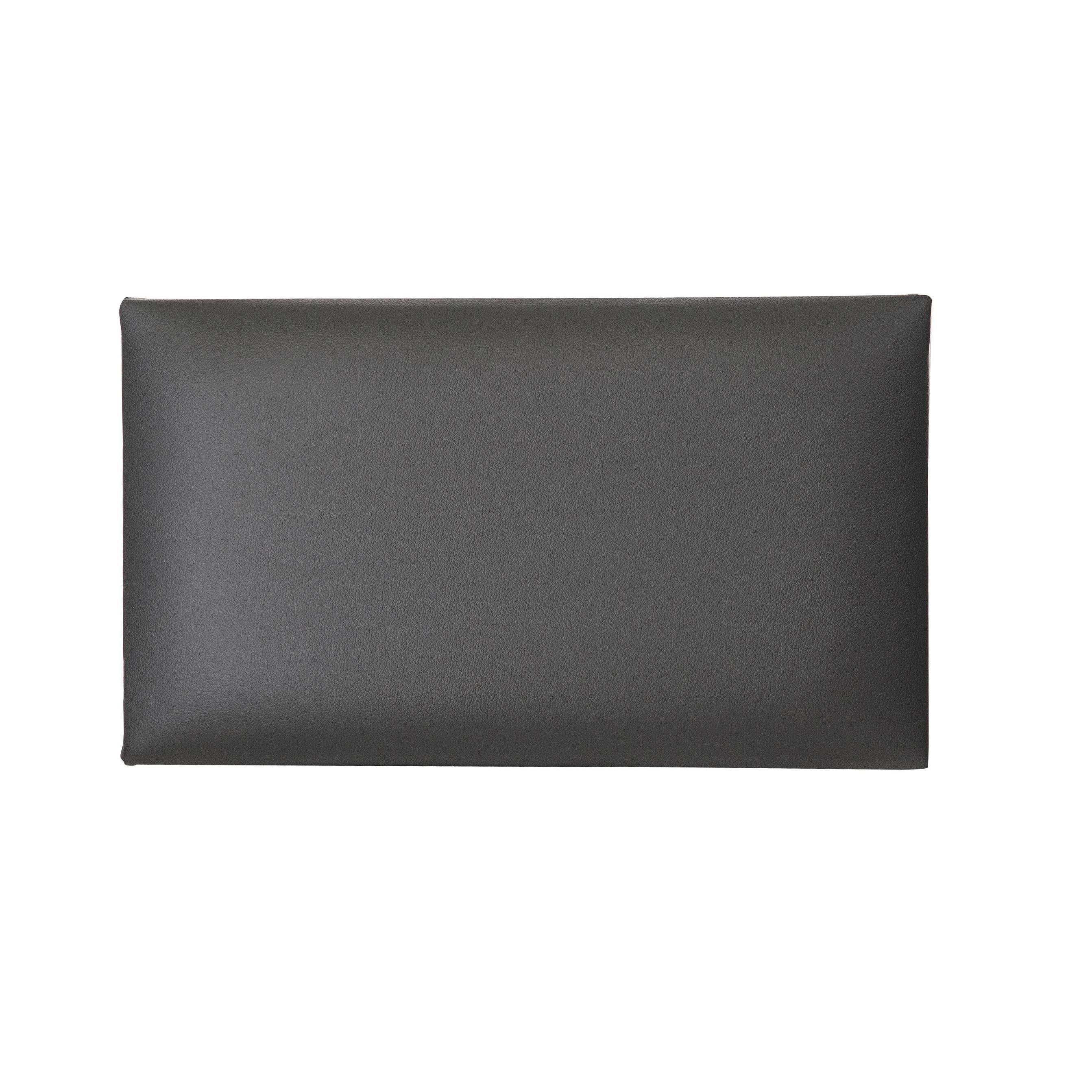 K&M Klavierbank Sitzpolster Echtleder schwarz