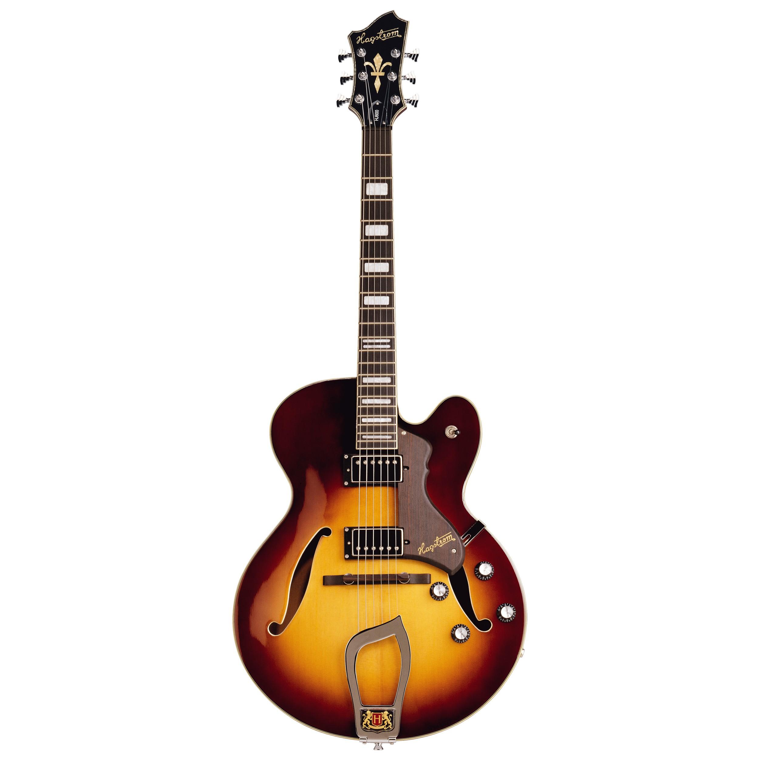 Hagstrom HJ 800 Jazzgitarre 3-Tone Sunburst