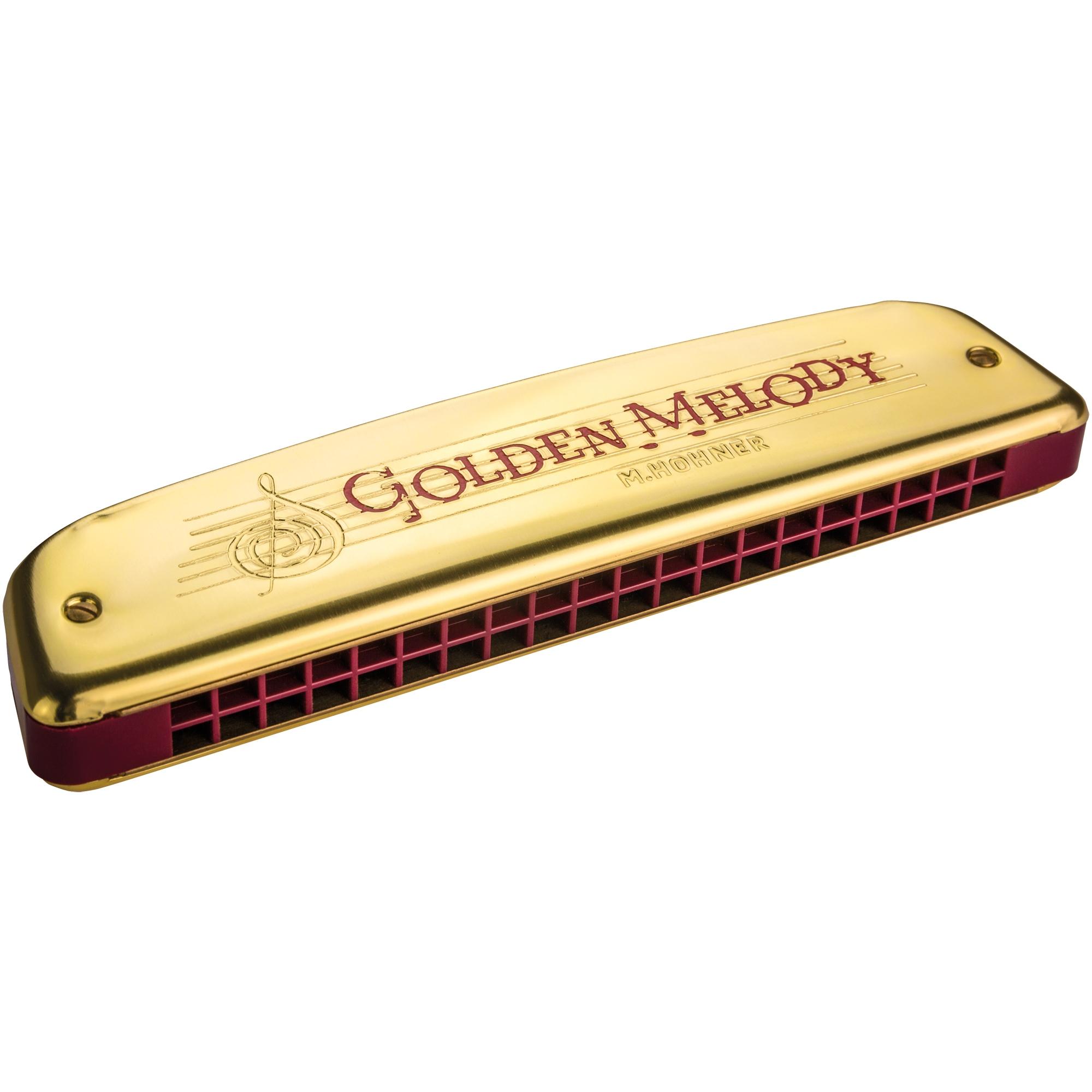 Hohner Golden Melody C - 40 Stimmzungen