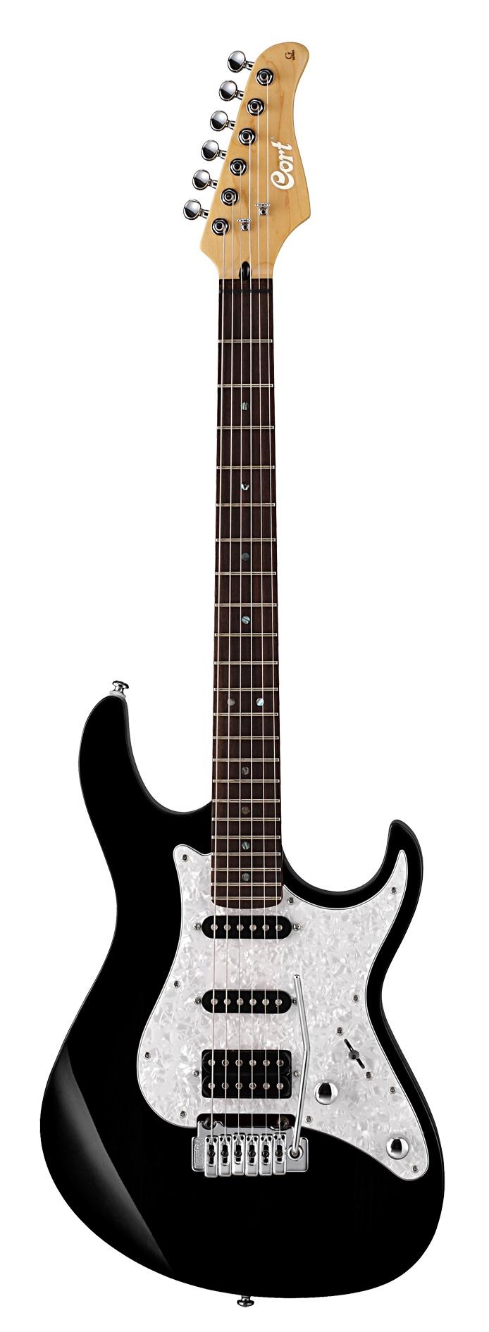 Cort E-Gitarre G250 schwarz