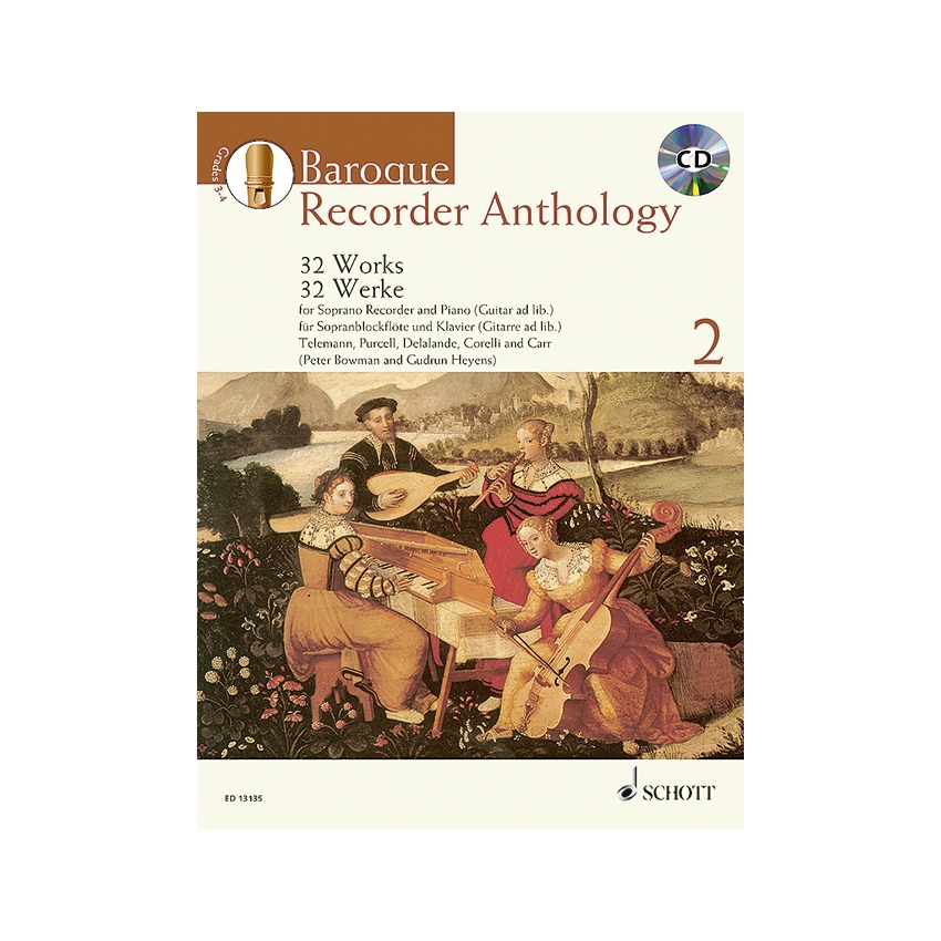 Baroque Recorder Anthology 2