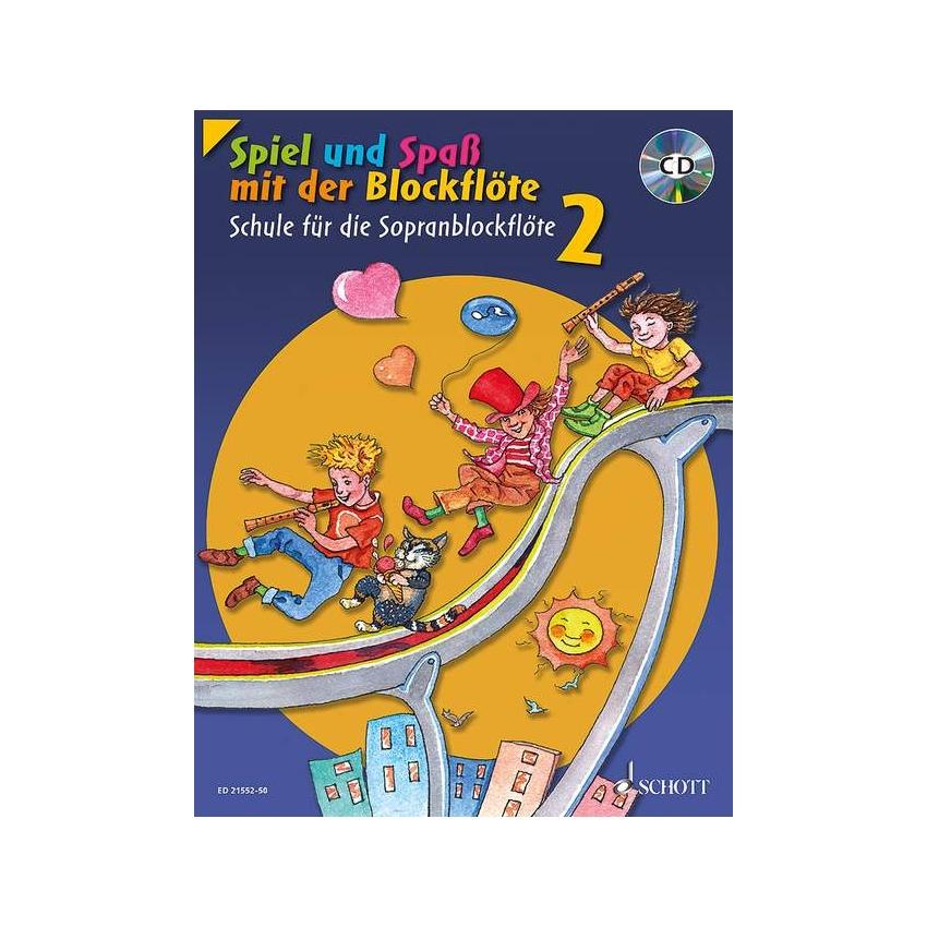 Spiel und Spass mit der Blockflöte 2