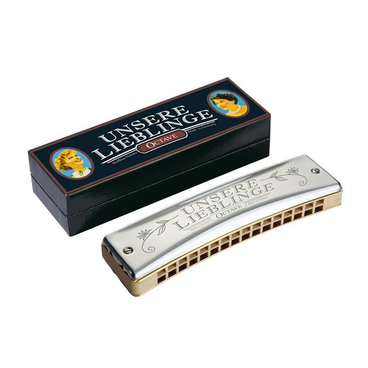 Hohner Mundharmonika Unsere Lieblinge G 32 Stimmzungen