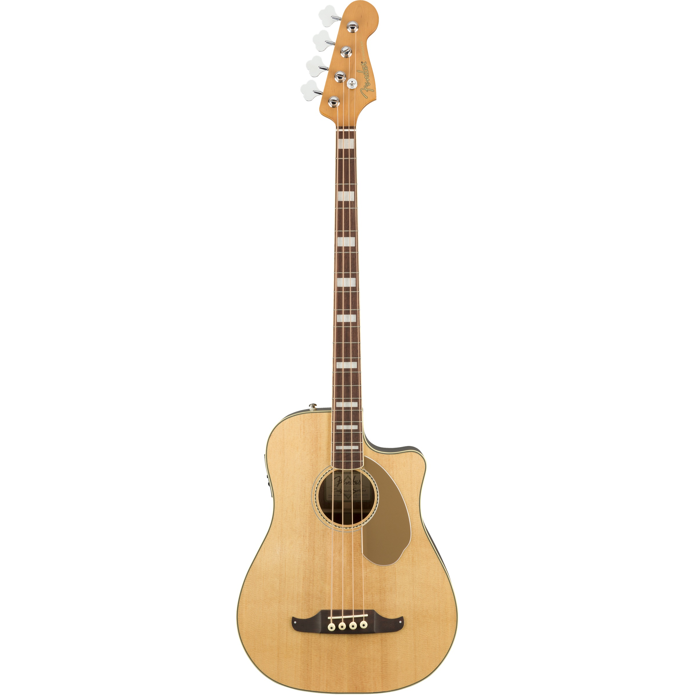 Fender Akustikbass Kingman SCE natural inklusive Koffer