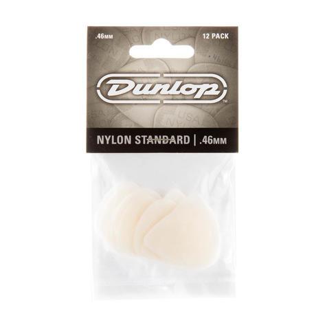 Dunlop Plectrum Nylon Standard 0,46mm 12 Stk
