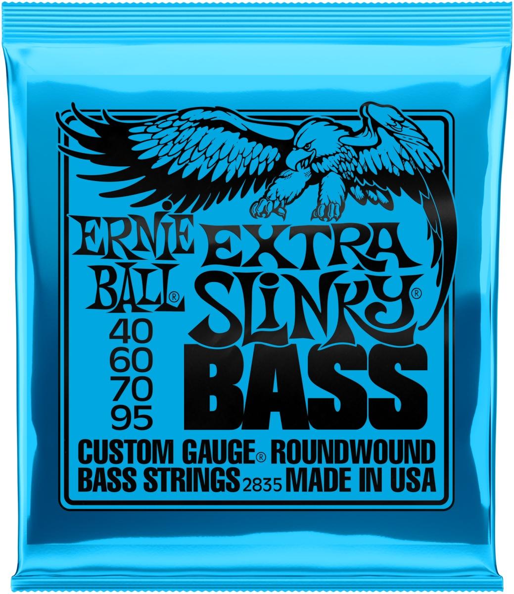 Ernie Ball EB2835 Extra Slinky 40-95 E-Bass Saiten