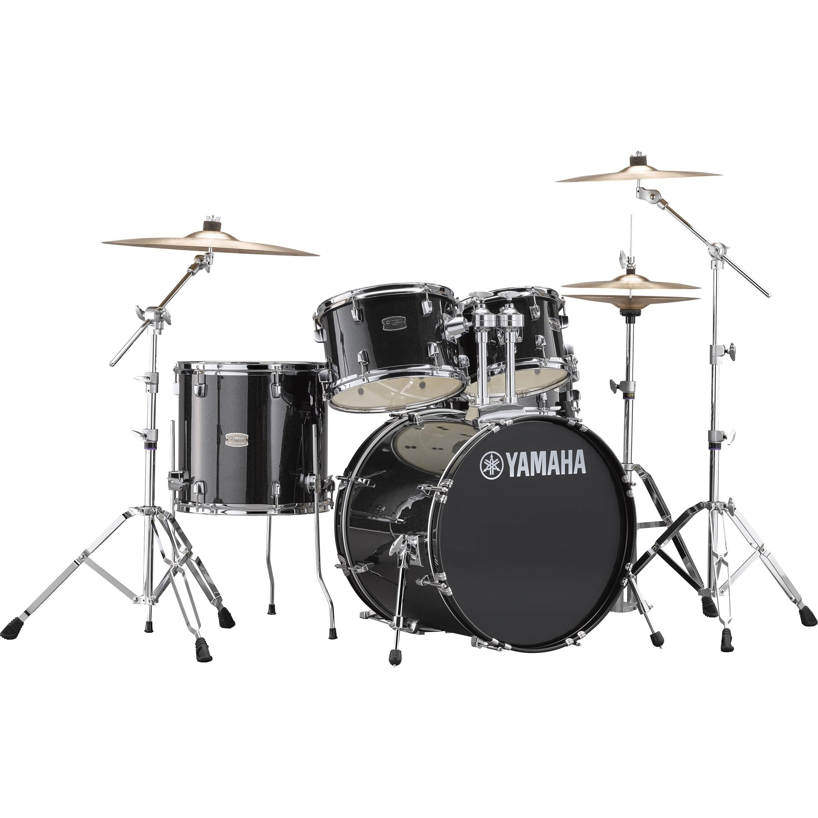 """Yamaha Rydeen 20"""" Black Glitter Schlagzeugset inkl. Becken"""