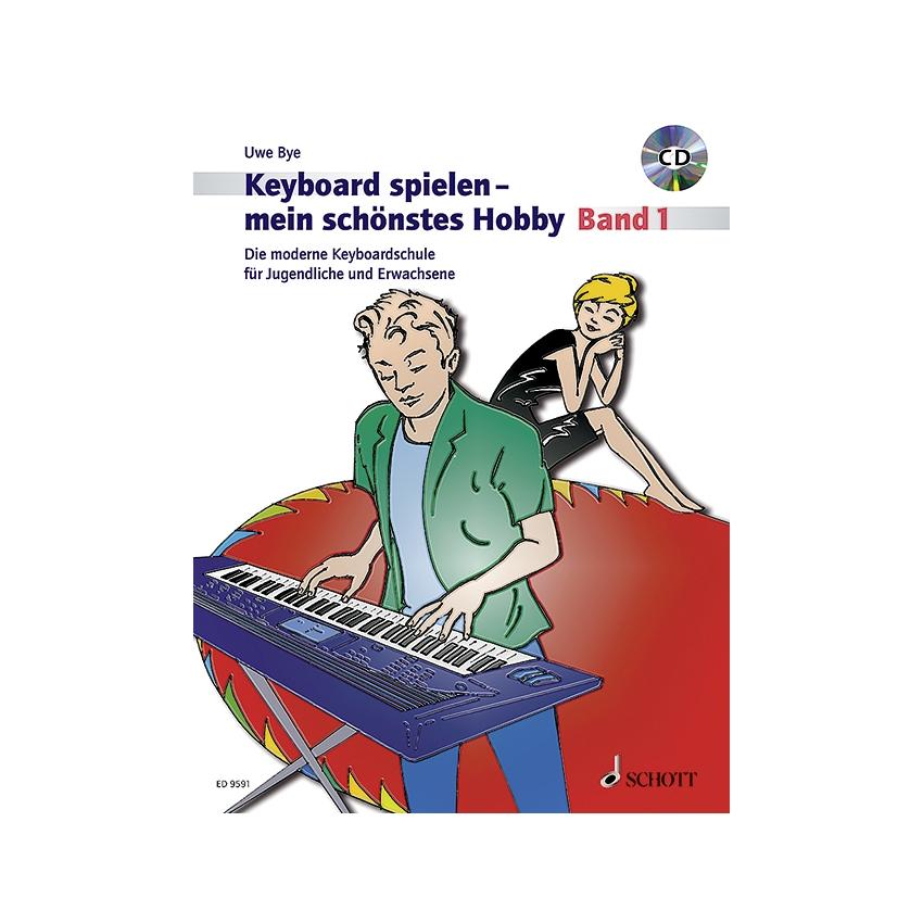 Keyboard spielen mein schönstes Hobby