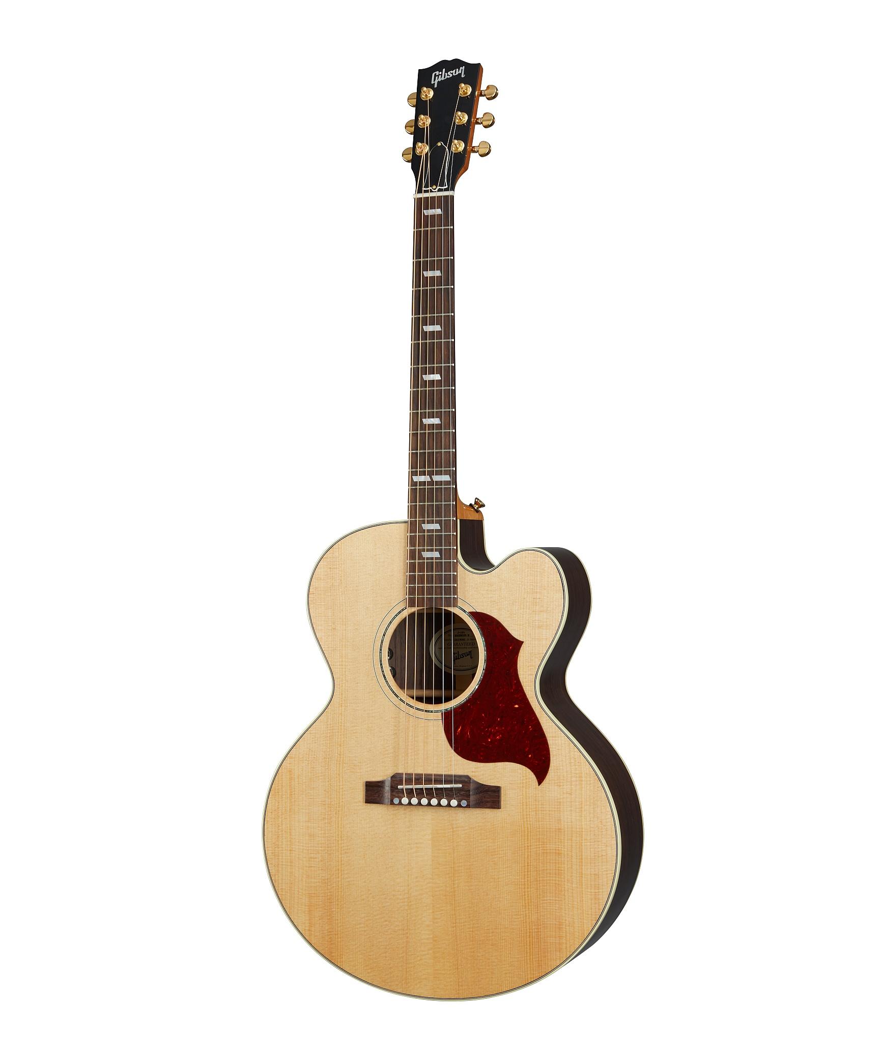 Gibson J-185 EC Modern Rosewood Antique Natural inklusive Koffer