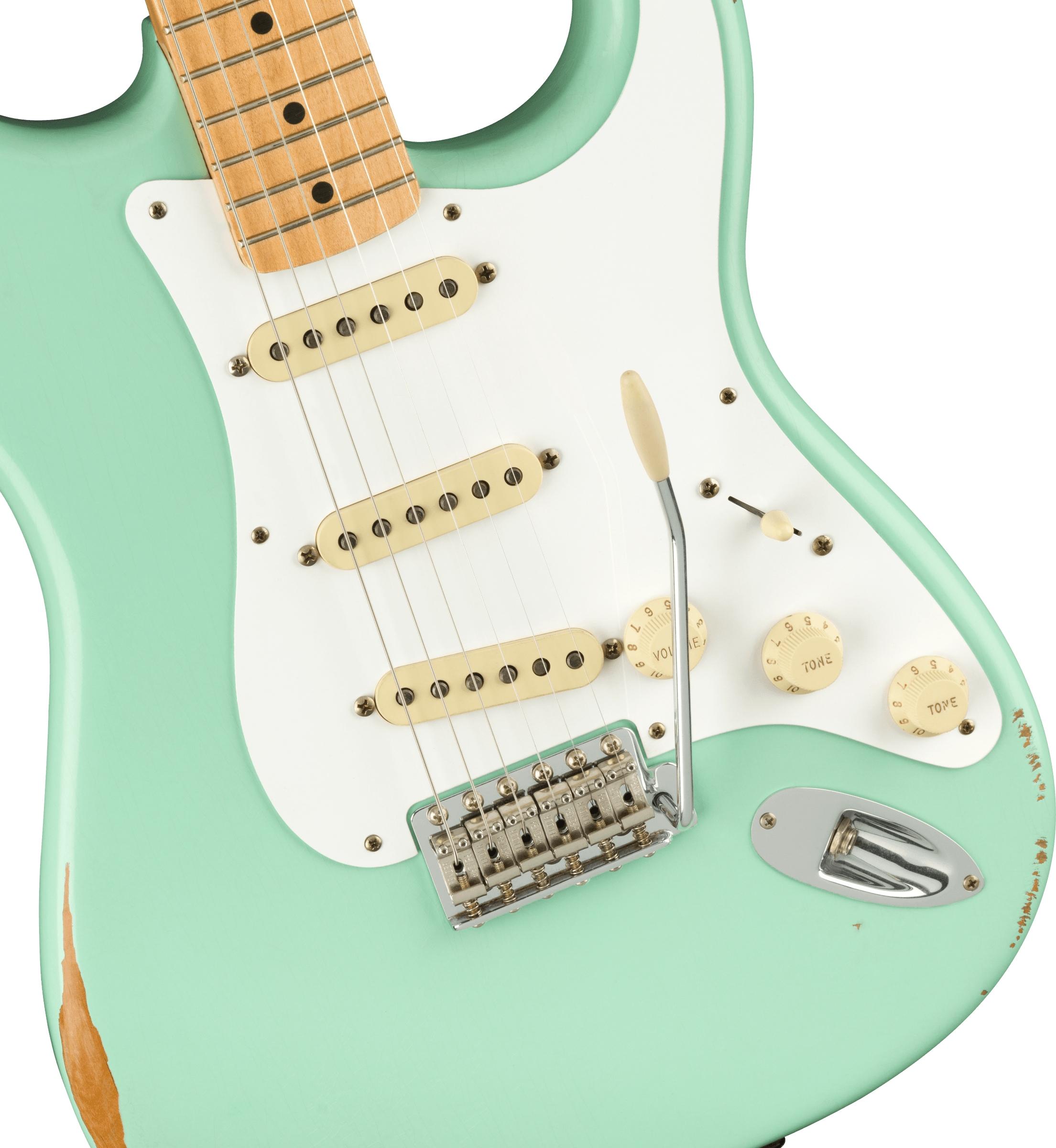 Fender Vintera Road Worn® '50s Stratocaster® SFG Sea Foam Green