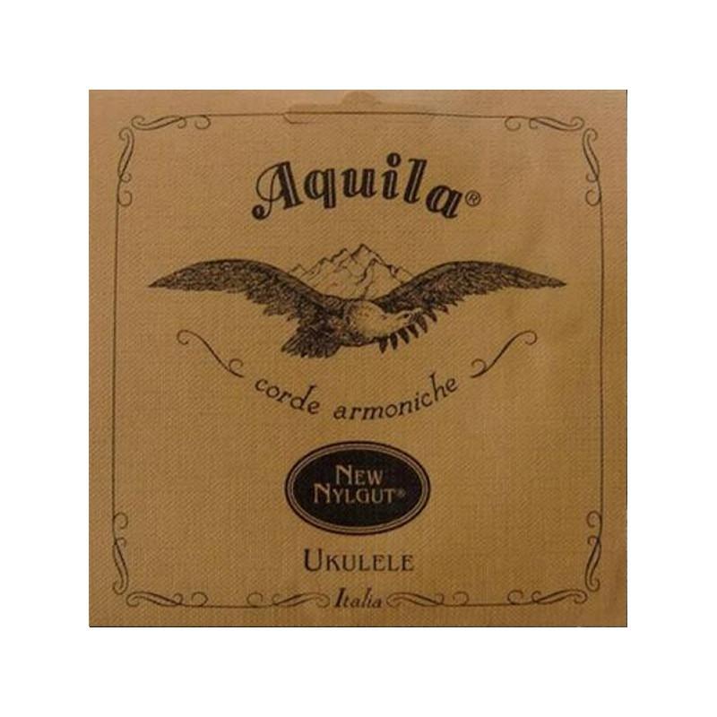 Aquila Saiten Ukulele Konzert New Nylgut tiefes G wound