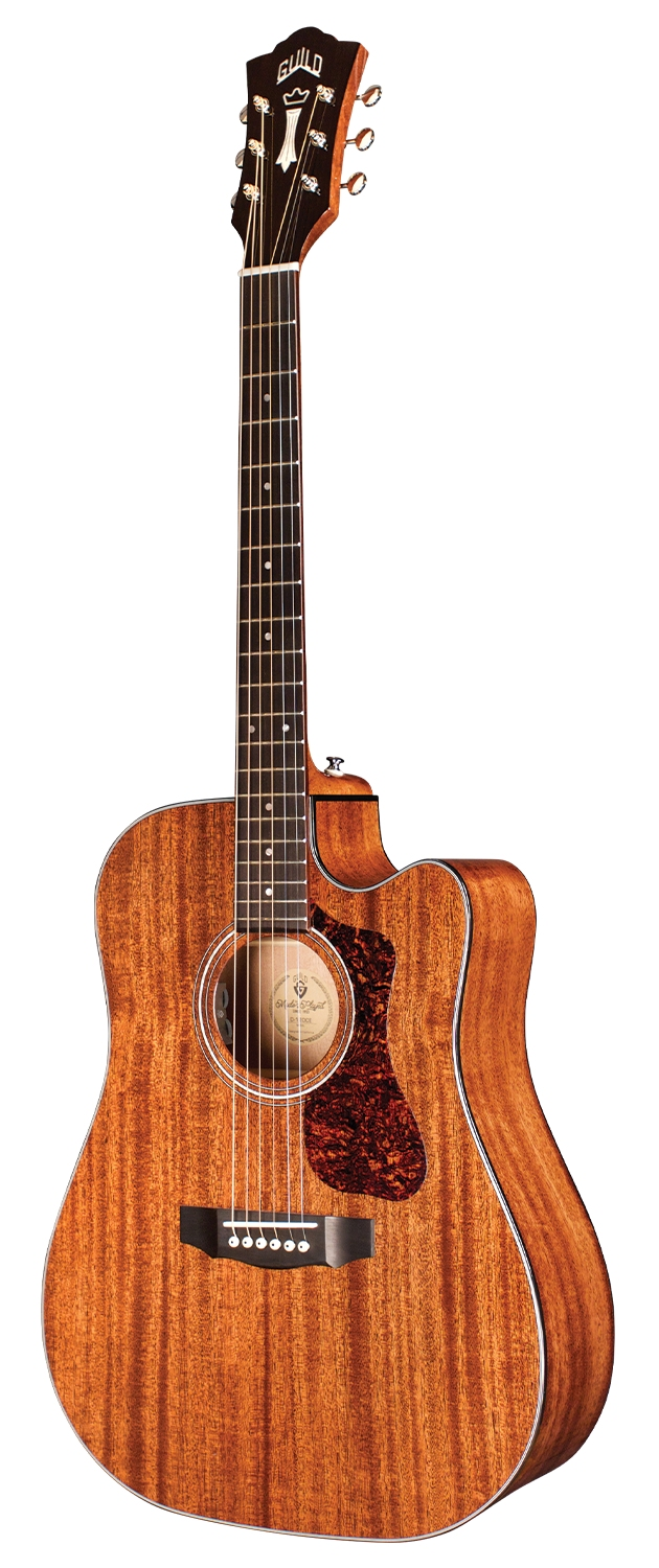 Guild D-120CD Natural Gloss - all solid - inklusive Gigbag