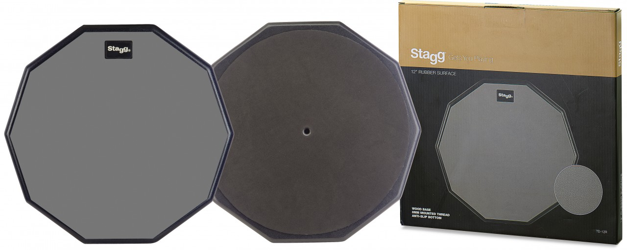 """Stagg Practice Pad 12"""""""""""