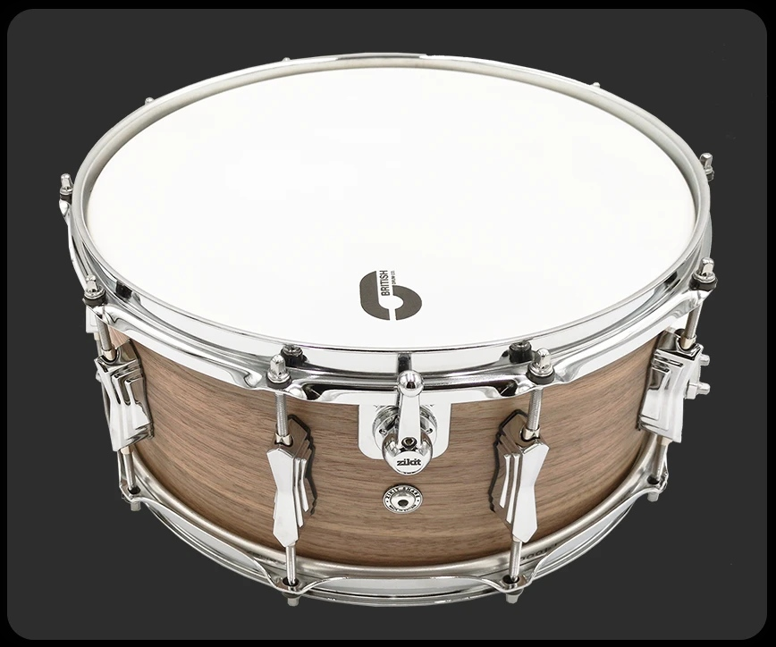 Zikit Drums Snare by British Drum Comany
