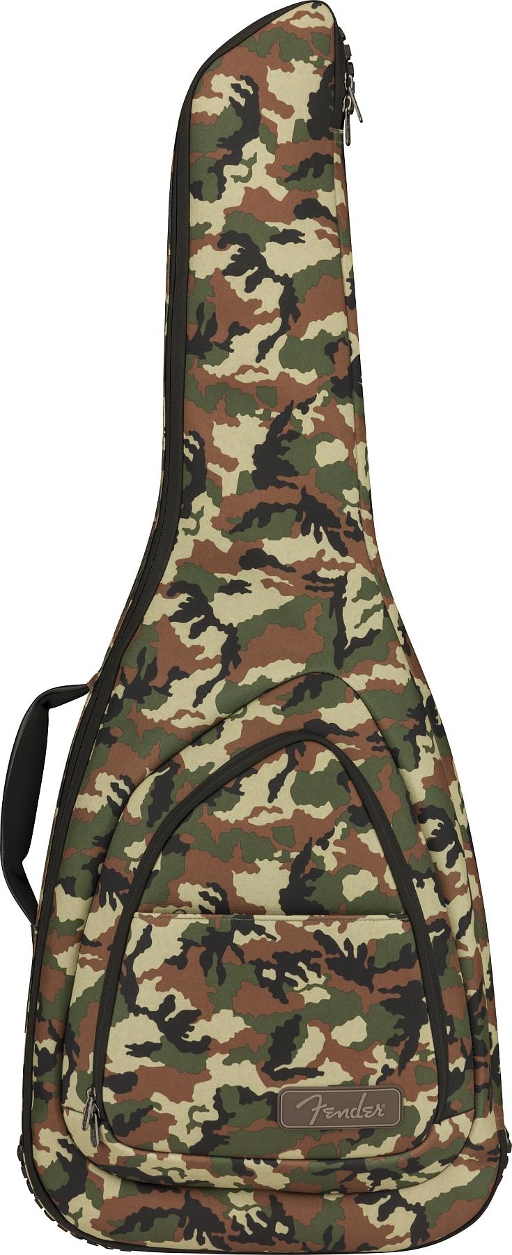 Fender FE920 Tasche E-Gitarre Woodland / Camo
