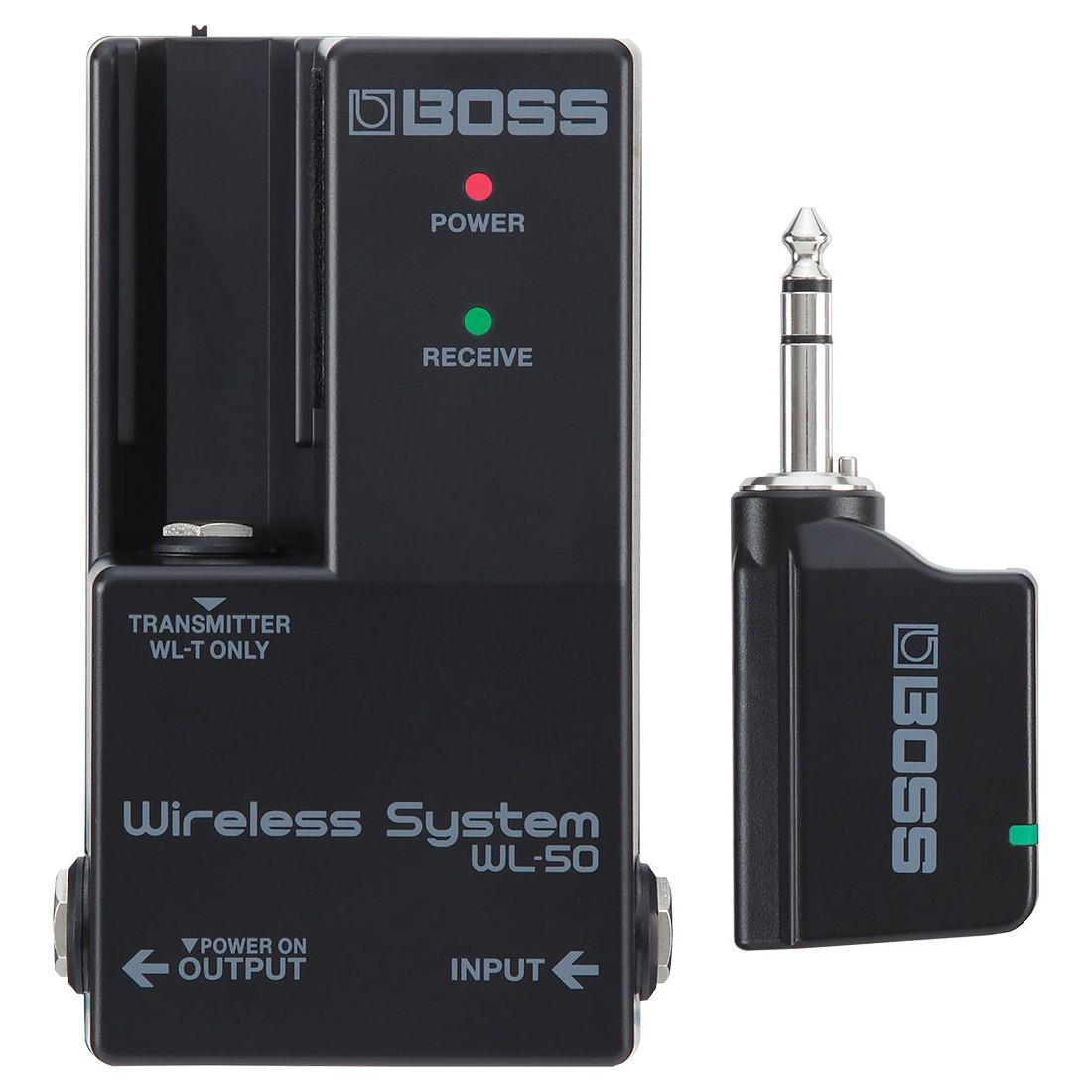 Boss WL-50 Wireless System für Pedalboards