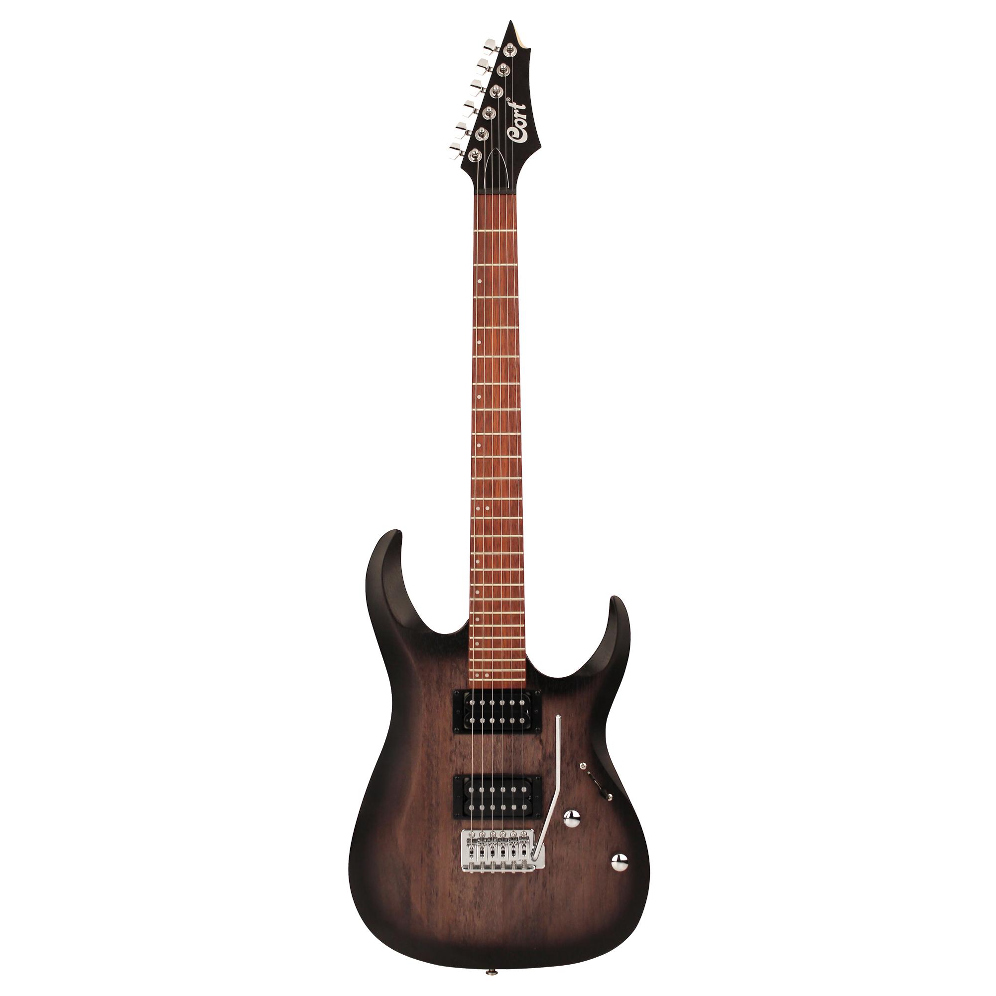 Cort E-Gitarre X-100 Open Pore Black Burst