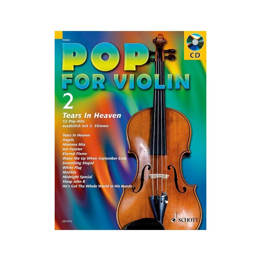 Pop for Violin 2 - Tears in Heaven