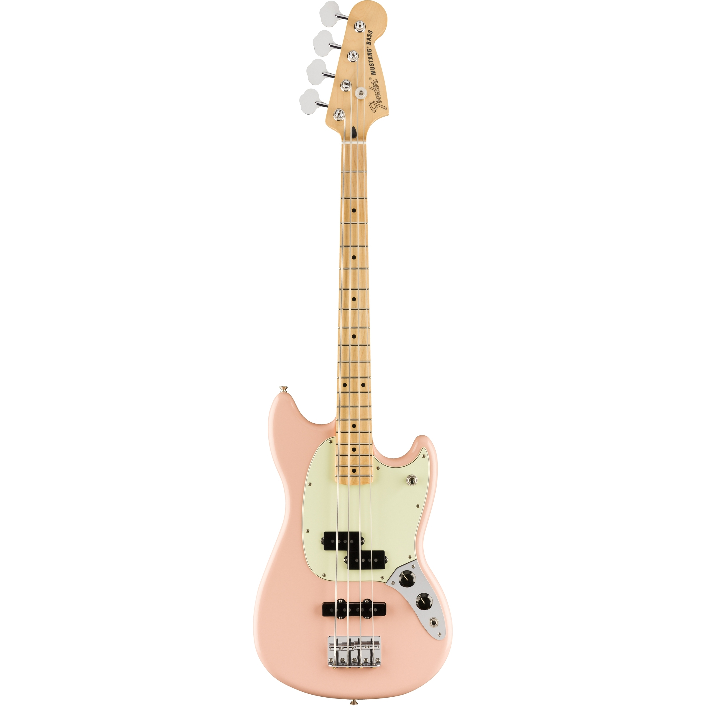 Fender Limited Edition Mustang Bass PJ MN Shell Pink