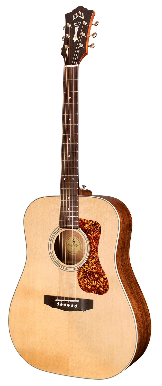 Guild D-140 Natural Gloss - all solid - inklusive Gigbag