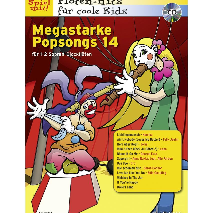 Megastarke Popsongs 14