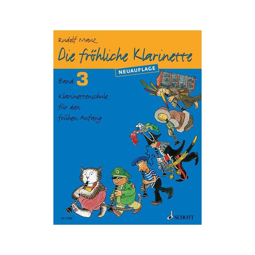 Die fröhliche Klarinette 3 Schule